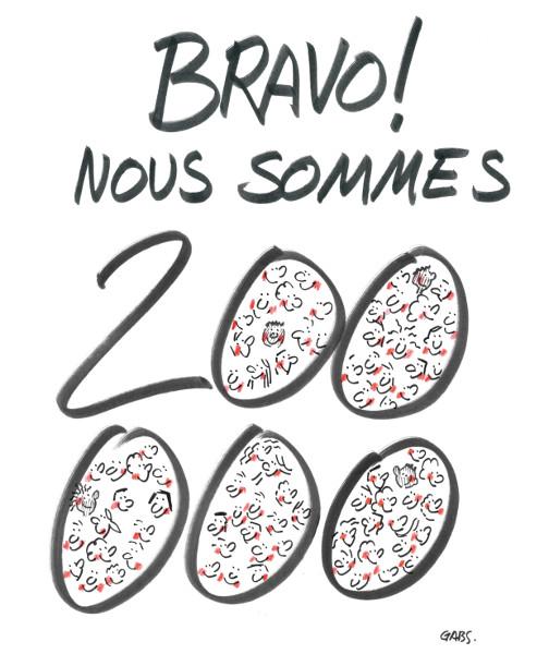 200 000 amis